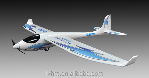 Electric rc airplane, 3d free model