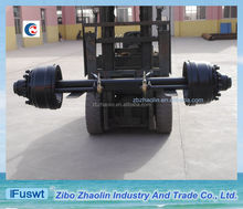 Full new FUWA type 127mm Square heavy truck rear axle use plastic bag