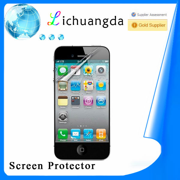 high clear screen protector for mobile phone