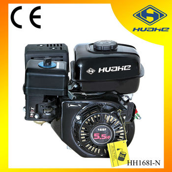 5.5hp single cylinder gasoline engine 168f, gasoline engine of generator