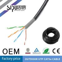 SIPU high quality utp cat5e outdoor telephone cable networking colour coding