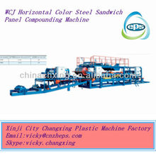 2013 new type eps sandwich panel machine line prices for sale