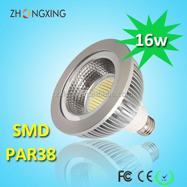 smd 16w cool white 6000k e27 led par spot lampes