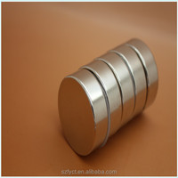 China manufacturer Strong powerful cheap ndfeb neodymium disc shaped magnets