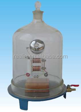 Vacuum Bell Jar with Eletric bell for Educational use