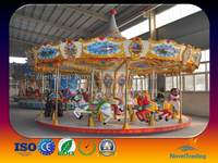 China OEM kids rotary carousel horse , merry go round for sale