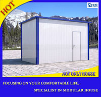 Good design prefabricated concrete flat roof house designs