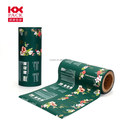 Customized Plastic Packaging Roll Film With Flower Design For Snack Packing