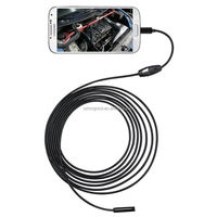 Best 7mm Android Phone Micro USB Waterproof Snake Borescope HD Inspection Endoscope Camera For Android & PC