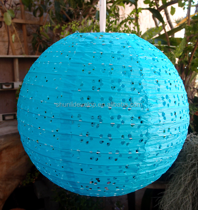 wedding favor make giant collapsible decorative round paper lantern