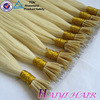 China professional hair factory wholesale price double drawn wholesale Stick 100% indian colored nano hair extension