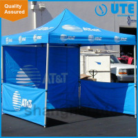 Waterproof canvas printed promotional foldable aluminum outdoor star canopy tent