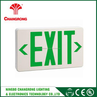 art glass wall plates hanging exit sign , led exit sign lights