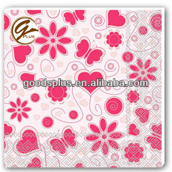 lace printed paper napkins GP1108