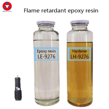 Flame retardant liquid epoxy resin ,casting Epoxy resin #9276 be used for medium- high voltage transformer