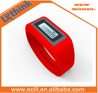 New super cool high accuracy smart wristband 3D pedometer for promotion