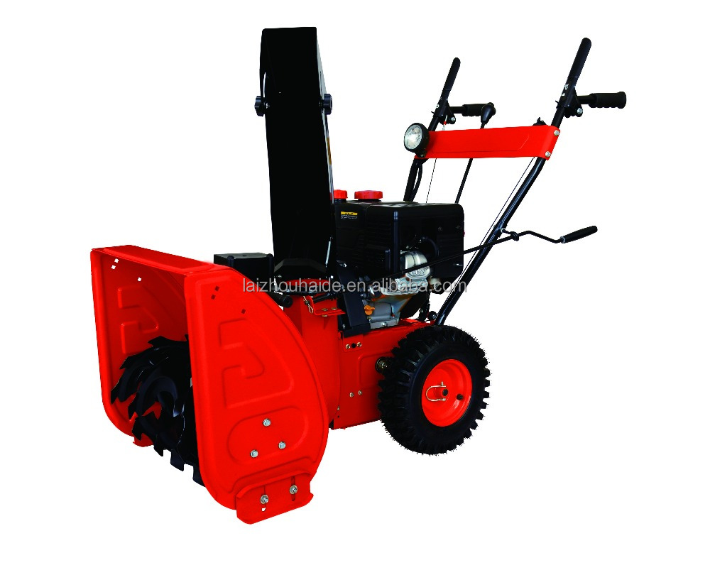 Gasoline 6.5HP Snow Thrower/ Gasoline Snow Blower with LED light