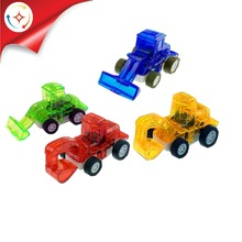 Good Quality 4 Style Assorted Kids mini Construction Toy Truck with wholesale price