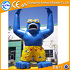Customized outdoor inflatable cartoon characters, giant inflatable gorilla for sale