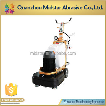 10HP floor surface grinding polishing machine