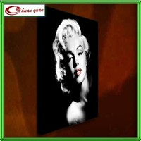 high quality wall poster wall art ,marilyn monroe Framed canvas print