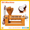 high quality oil press machine for making organic coconut oil copra expeller
