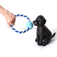 cotton rope chew running balls dog choice pet toy