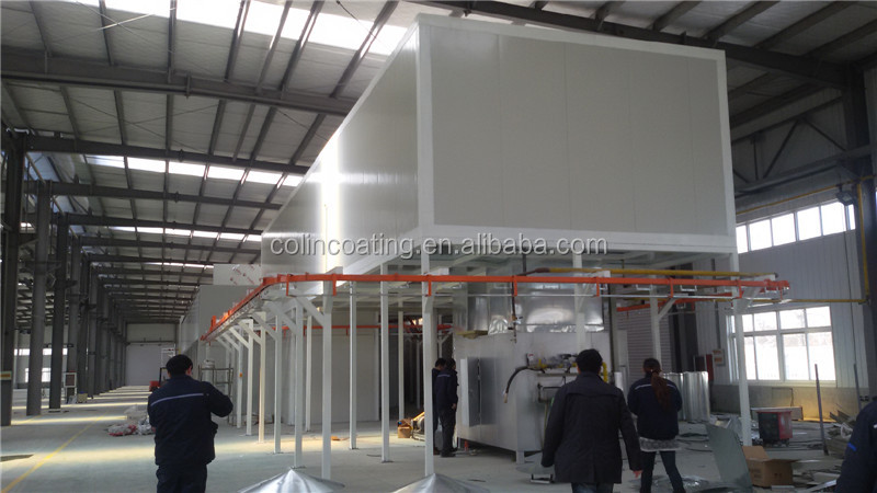 dip coating equipment, fluidized bed powder coating equipment