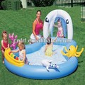 Inflatable Play Pool Center with 6 Game Balls