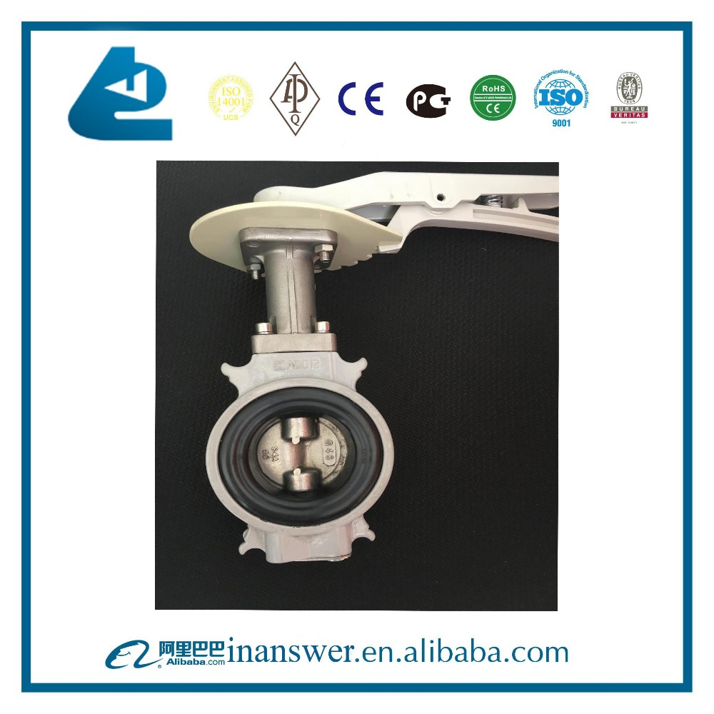 Price of DN80 Handles Rubber Seal KITZ Butterfly Valve