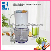 electric mini food chopper cute electric plastic genius double stainless steel blade food chopper