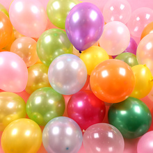 12-inch pearl balloon latex wholesale balloons Mixed colors