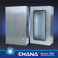IP66 protection Bar lock stainless steel enclosure door box