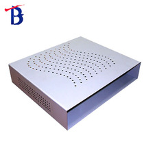 sheet metal steel fire control cabinet with red powder coating