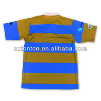 Rugby jersey with sublimation print