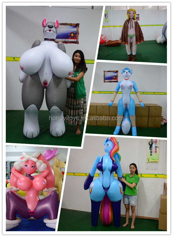 Customized  PVC Inflatable Big Boobs Sex Doll Inflatable Dragon Sex Toy  Inflatable Boobs With SPH For Man