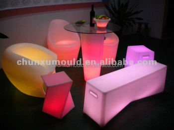 Color changing LED funiture sets for events and banquets /Bar (Night bar)