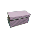 High quality fabric collapsible canvas storage box for kids toy storage
