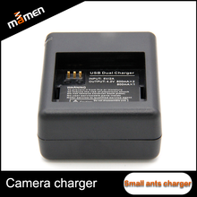 Manufactory Lowest Camera Battery Charger Special For Small Ants Two Slot on Each Side Battery Charger With CE ROHS FCC