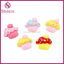 Wholesale newest design cake food resin for children's crafts