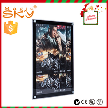Black frame led crystal backlit display acrylic crystal light box sign for <strong>advertising</strong>