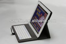 2017 newest solor charger arabic bluetooth keyboard for ipad 2
