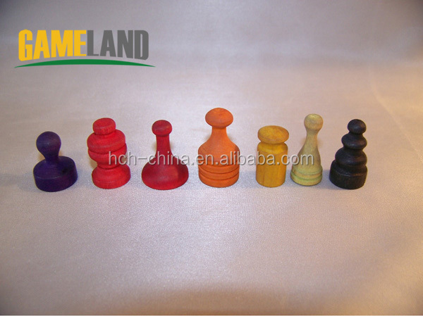 Custom Wooden Board Game Pieces Wooden Board Game Pawns