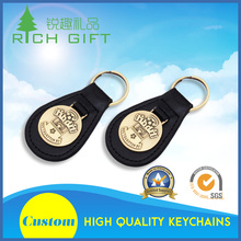 High quality custom design zinc alloy hard enamel football team club league fobs keychain