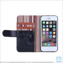Flip Wallet Leather Mobile Phone Case Cover For Apple iPhone 5 5S