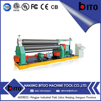 NJBTMT-Sale Price Aluminium Foil And Pipe Used Hydraulic Rolling Machine For Steel Plate And Metal Sheet Rolling