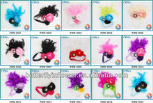 Poppy Flowers fashion <strong>accessory</strong> for Kids Feather baby <strong>hair</strong> bands kids <strong>hair</strong> <strong>accessories</strong> many colors