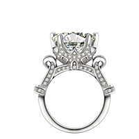 New Product Design! 925 Sterling Silver Wedding Engagement CZ Diamond Jewelry Ring for Women Fashion Jewelry KR1805S MoonSo