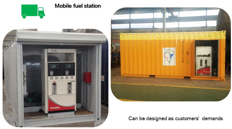 Automatic portable refueling device mobile petrol filling station