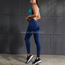 Women Sports Push Up Tights Yoga Compression Pants Sexy Hips Exercise dri-fit Trousers High Elastic Running Sport Pants